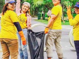Trash Hero Cleanups Indonesien