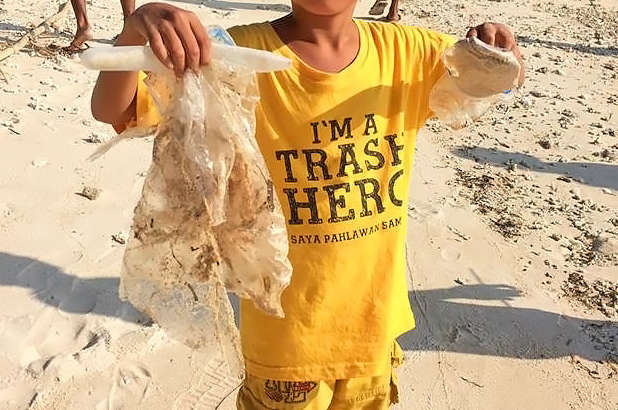 Trash Hero Cleanups Indonesia